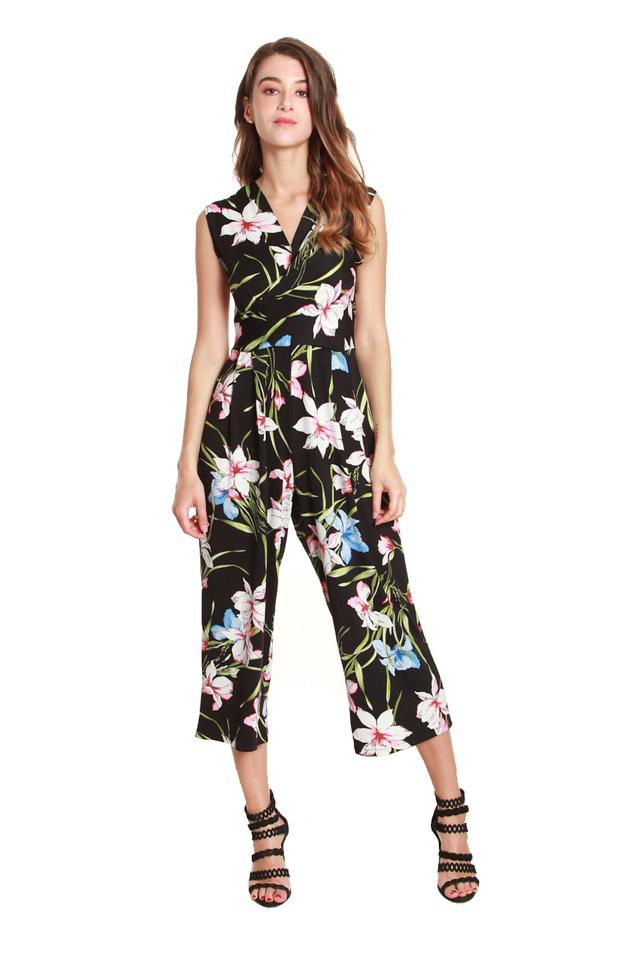 Loretta Bold Floral Jumpsuit
