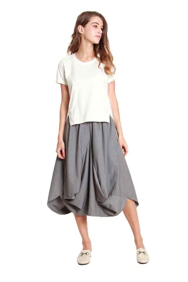 Pomeline Voluminous Parachute Skirt