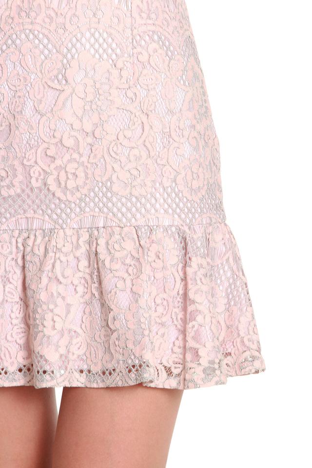 Ashley Sleeveless Lace Dress