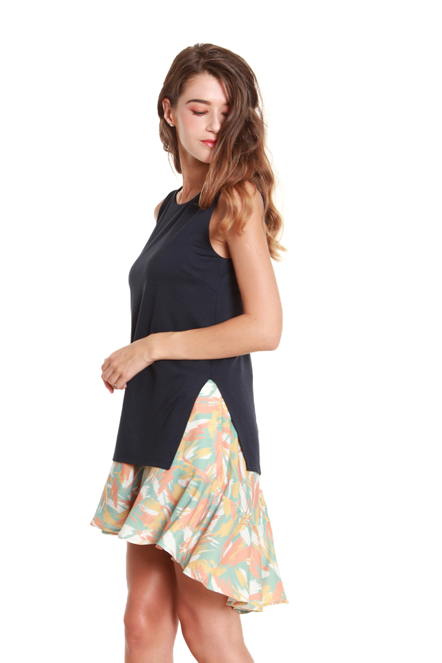 Dana Faux Top and Skirt Dress