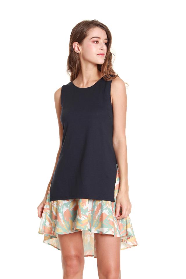 Dana Faux Top and Skirt Dress