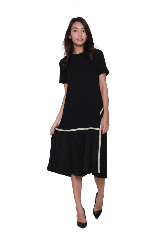 Elva Flapper-Inspired Midi Dress