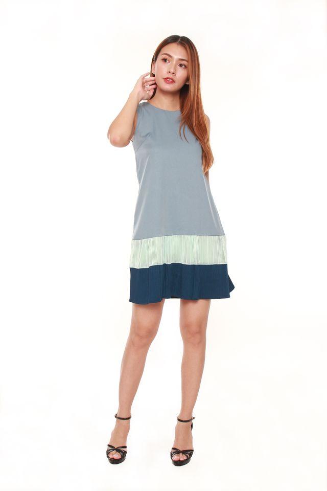 Amia Sack Mini Dress
