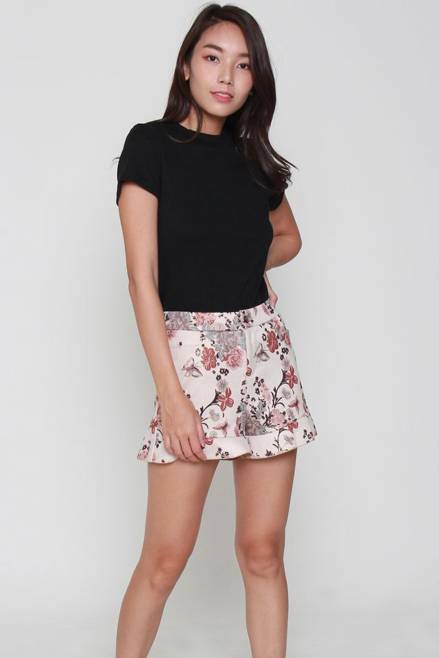 Everly Floral Printed Short