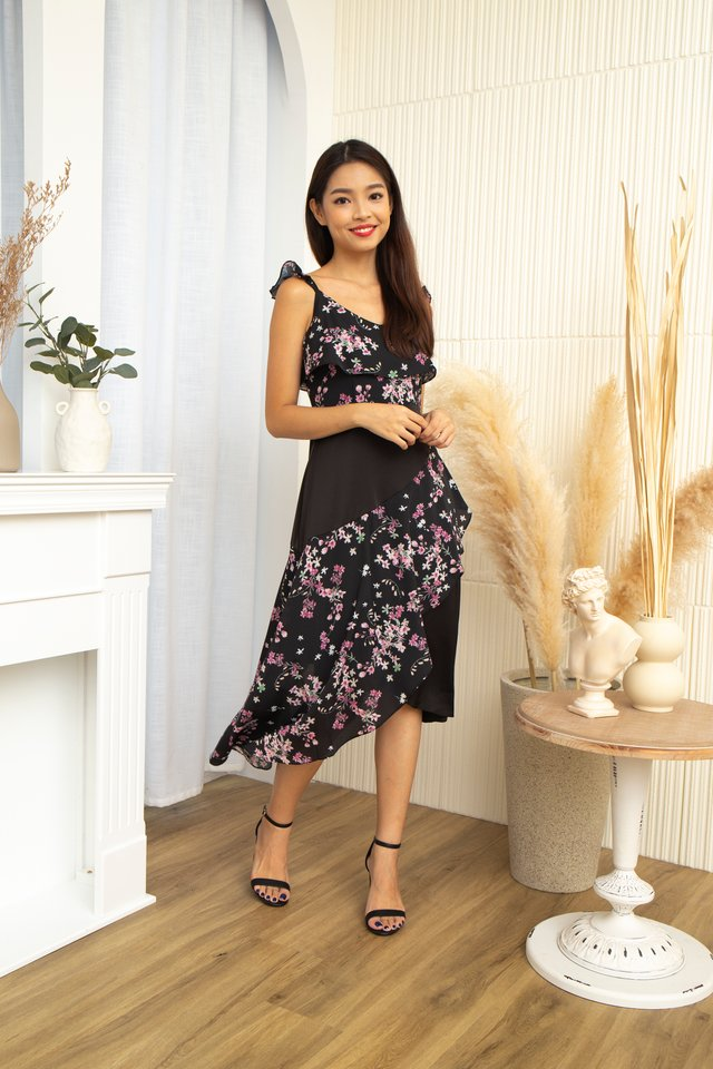 Janelle Floral Hi-Lo Dress